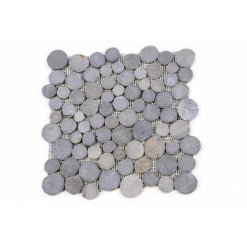 Mozaika Garth z andezitu - šedá obklady - 1x síťka