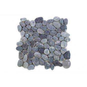Mozaika Garth říční oblázky - šedá obklady 1 m2 D00968