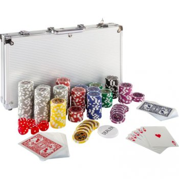 Poker set 300ks žetonů 1 - 1000 design Ultimate M02642