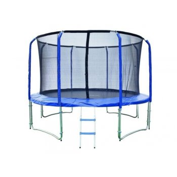Trampolína 427 cm + vnitřní ochranná síť + žebřík ZDARMA