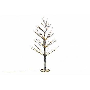 Dekorativní zimní strom 90 cm - 120 LED teplá bílá