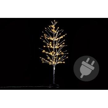 Dekorativní zimní strom 120 cm - 160 LED teplá bílá
