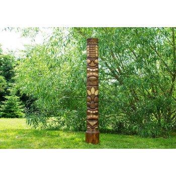 Dřevěná socha TIKI 150 cm