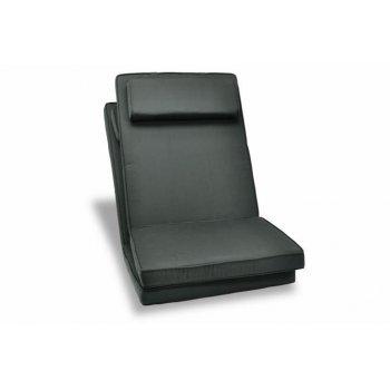 Sada 2 kusů polstrování na židli Garth - antracit