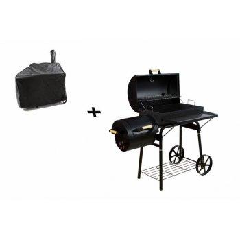 BBQ gril Garth na dřevěné uhlí, extra velký, 32 kg + obal D43776