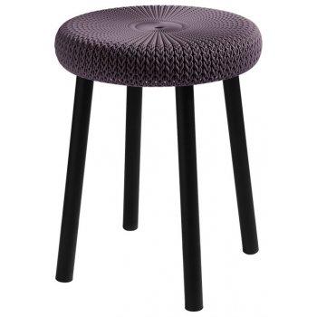 Stolička COZY stool - fialová