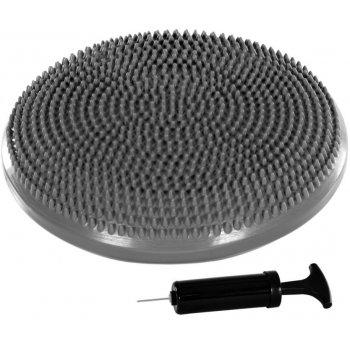 Balanční polštář na sezení MOVIT 33 cm šedý