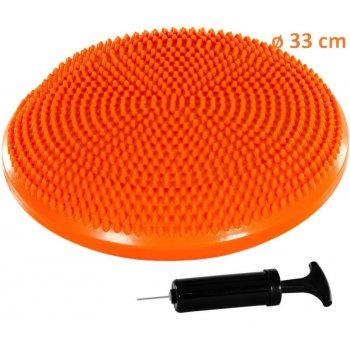 Balanční polštář na sezení MOVIT 33 cm, oranžový M31955