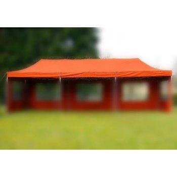 Náhradní střecha na zahradní skládací stan 3 x 9 m terakota