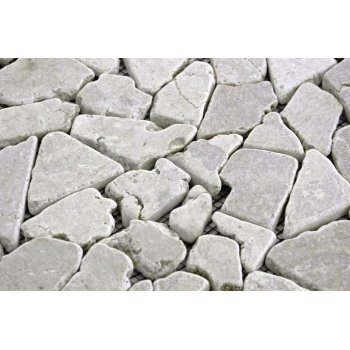 Mramorová mozaika Garth- krémová obklady  1 m2