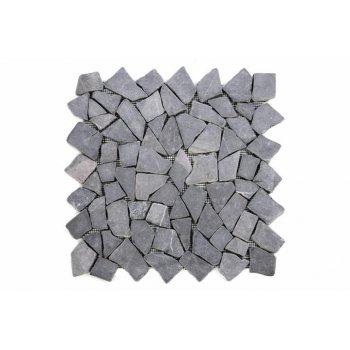 Mramorová mozaika Garth - šedá obklady 1 m2 D00563