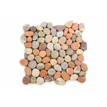 Mozaika Garth říční oblázky - obklady 30 x 30 cm