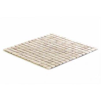 Mramorová mozaika DIVERO krémová 30 x 30 cm 1 m²