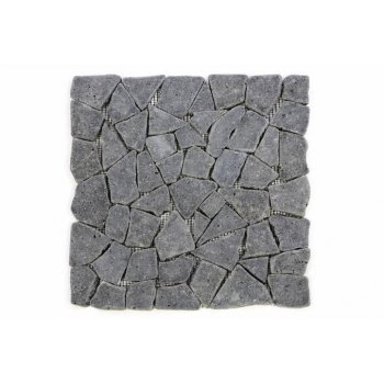 Mozaika Garth z andezitu - tmavě šedá obklady 1 m2 D00594