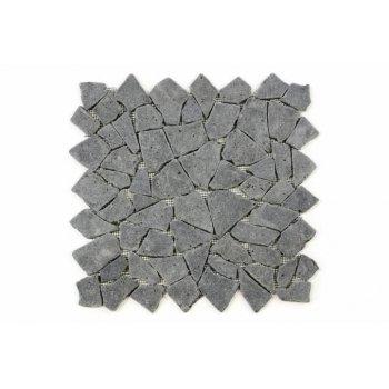 Mozaika Garth z andezitu - černá / tmavě šedá obklady 1 m2 D00638