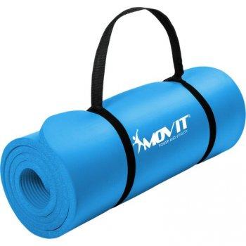 Podložka na jógu MOVIT 190 x 60 x 1,5 cm sv. modrá
