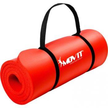 Podložka na jógu MOVIT 190 x 60 x 1,5 cm červená M02307