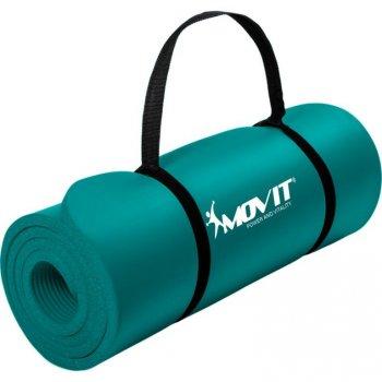 Podložka na jógu MOVIT 190 x 60 x 1,5 cm tm. tyrkysová M29315