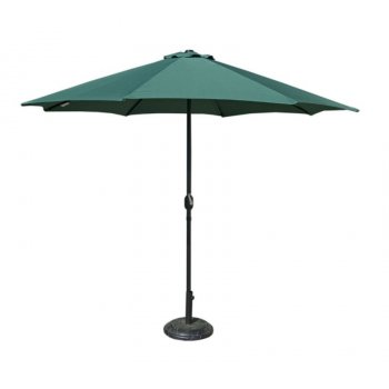 Slunečník  300 cm - zelený