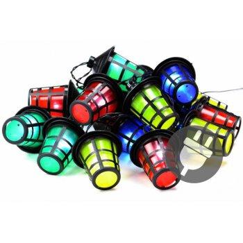 Barevné osvětlení - 20 LED lucerniček - 5 m