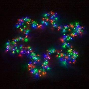 Vánoční LED osvětlení 20 m - barevné 200 LED