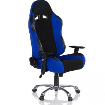 Kancelářská židle RACEMASTER RS Series - černá/modrá