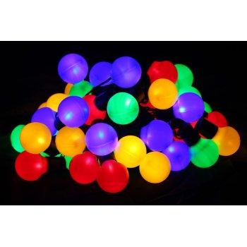 Barevné párty osvětlení - venkovní - 50 LED