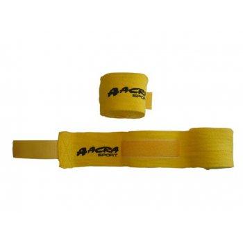 Bandáž na ruce pro bojové sporty - žlutá