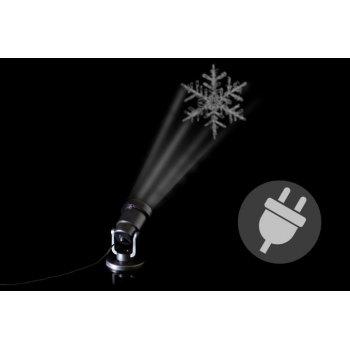 Venkovní LED projektor - sněhová vločka - dosah 15 - 20 m D41716