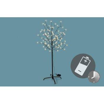 LED vánoční dekorace - Světelný strom - 96 LED 150 cm D39398
