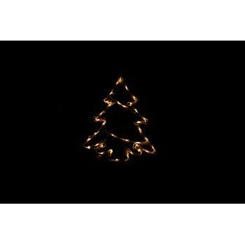 Vánoční LED dekorace - strom - 30 cm D47248