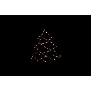 Vánoční LED dekorace do okna - STROM - 40 cm D43007