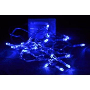 Vánoční LED osvětlení Garth 4,5m - modré, 30 diod D00818