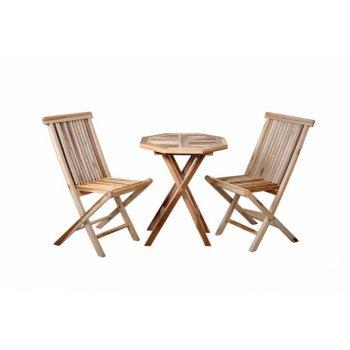 DIVERO zahradní nábytek z týkového dřeva D02285
