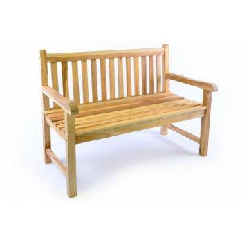 Zahradní lavice DIVERO 2-místná robustní 120 cm D34976