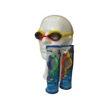 SWIM GOGGLE Závodní juniorské plavecké brýle - silikon