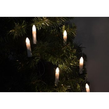 Vánoční svíčky s 30 LED diodami D01149