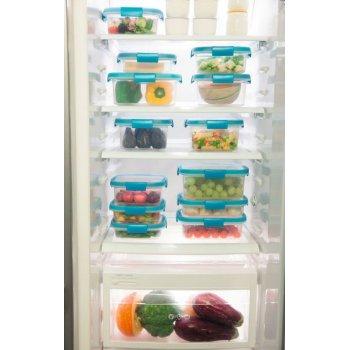 Dóza na potraviny SMART FRESH 1,1L - modré víko