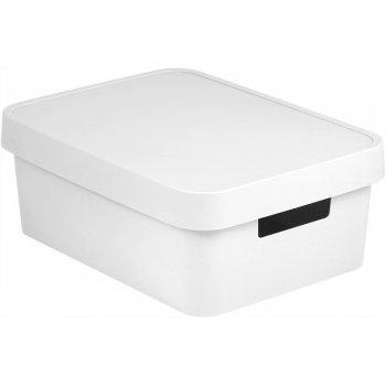 Úložný box INFINITY 11L - bílý