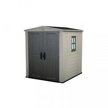 Zahradní plastový domek FACTOR 6x6Shed - 208 x 196 x 178 cm
