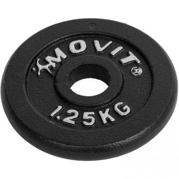 Činkový litinový set MOVIT 2 x 10kg