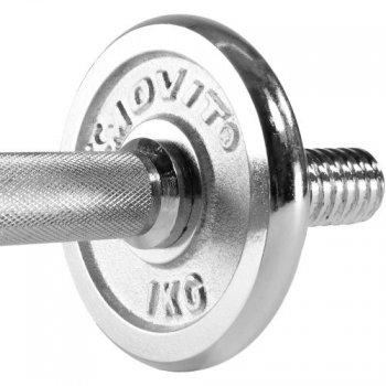 Činkový set chrom 15 kg