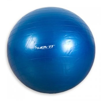 Gymnastický míč Movit modrý 65 cm