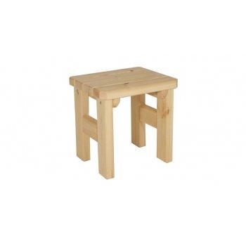 Zahradní dřevěná stolička Darina - bez povrchové úpravy