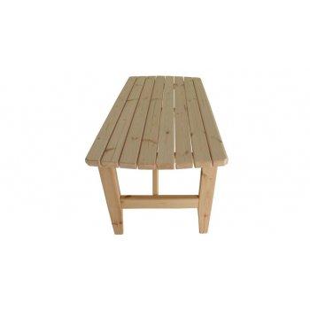 Zahradní dřevěný stůl I. - bez povrchové úpravy - 160 cm