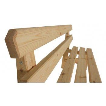 Zahradní dřevěná lavice I. - bez povrchové úpravy - 150 cm