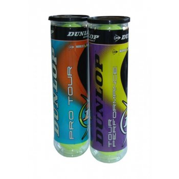 Míčky tenisové Dunlop Pro Tour - 4 ks v dóze