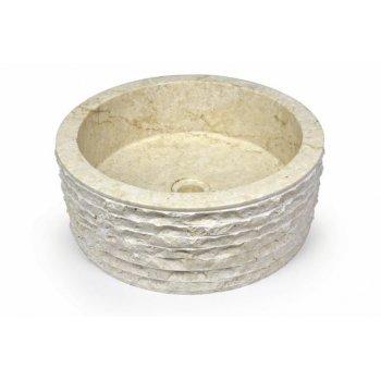 DIVERO umyvadlo z přírodního kamene Roma