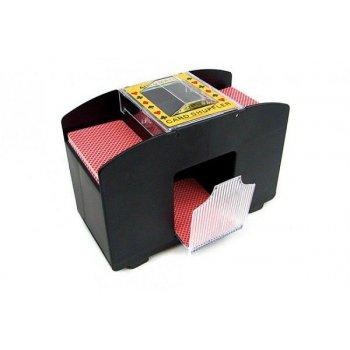 Automatická míchačka karet XXL až pro čtyři balíčky karet (černá)