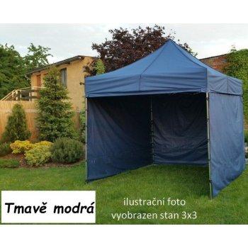 Zahradní párty stan PROFI STEEL 3 x 6 - tmavě modrá